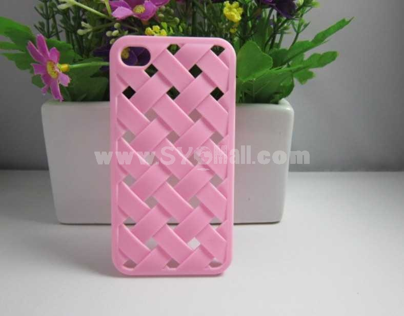Weaved Mesh Shaped case for iPhone 4/4s