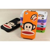 Wholesale - Paul Frank Pattern Silicone Case for iPhone 4/4s