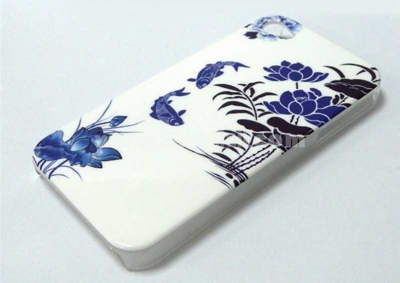Traditional Chinese style IMD Case for iPhone 4/4s