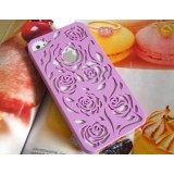 Wholesale - Hollowed-Out Rose Pattern Case for iPhone 4/4s
