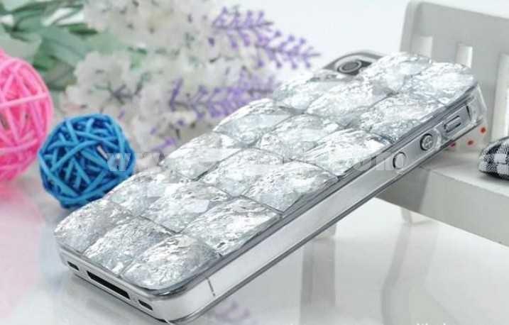 3D Meteorites Crystal Design Case for iPhone 4/4s