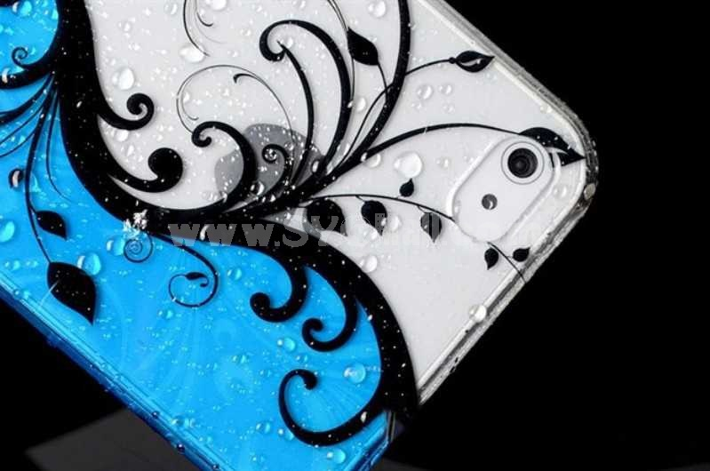 Translucence Decorative Pattern Case for iPhone 4/4s