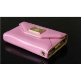 Wholesale - Italian Style Leather Wallet Case for iPhone 4s