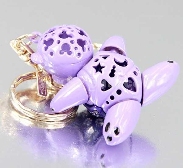 Stylish Cartoon Toy Pattern Diamonds Keychain