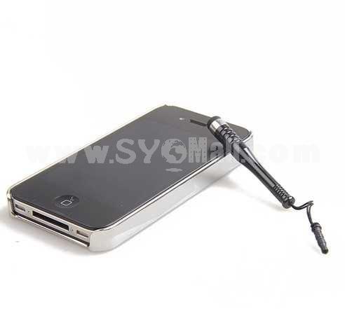 Short Capacitive Touch Screen Pen Dustproof Plug