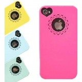 Wholesale - Ultrathin Lace Style Protection Case For iPhone4 (S)