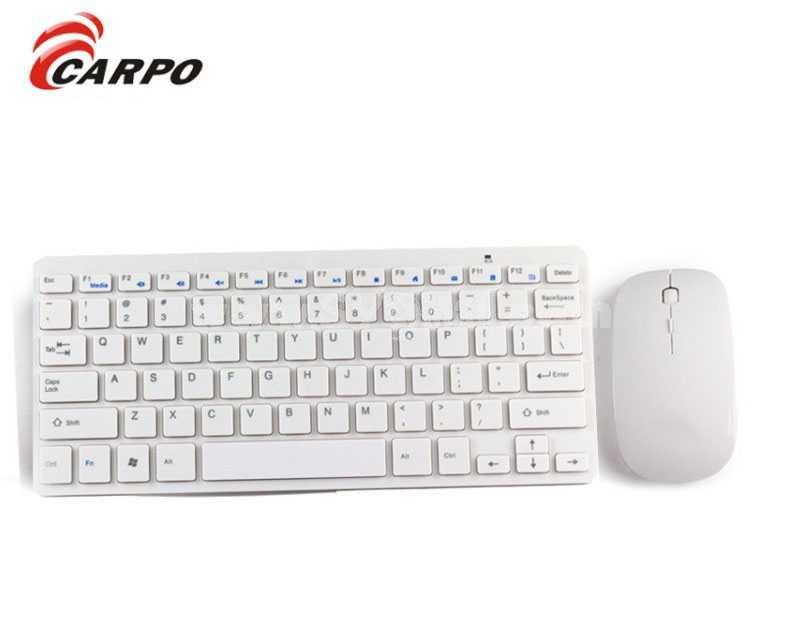 2.4G Ultrathin Wireless Bluetooth Notebook Keyboard+Mouse (H268)