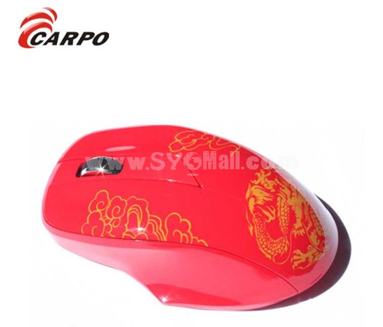 CARPO 2.4G Wireless Business/game Mouse (V9)