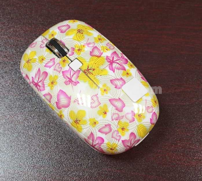 CARPO Maple Leaf Style Wireless Optical Mouse (V600)