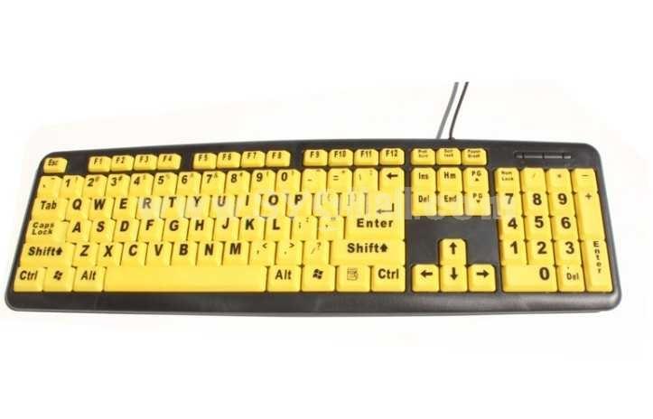 CARPO Elderly-Users Wired Keyboard (T501)