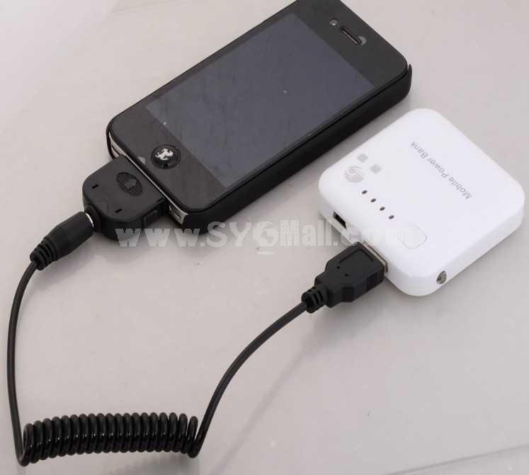 Mini Size 2000mAh USB Port Portable Power Bank