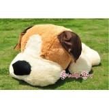 Wholesale - Cartoon Sleepy Puppy PP Cotton Stuffed Animal Plush Toy 40CM Tall