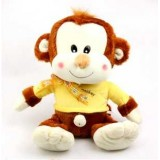 Wholesale - Cartoon Lover Monkeys PP Cotton Stuffed Plush Toys Stuffed Animals 50CM Tall