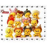Wholesale - Chinese Zodiac Collector's Edition PP Cotton Stuffed Animal Plush Toy 4 PCs