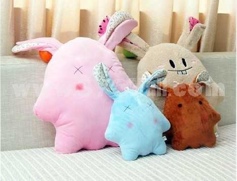 Lovely Cartoon Rabbit PP Cotton Stuffed Toys