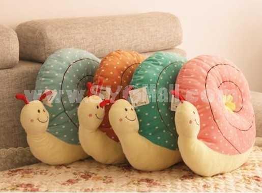 Lovely Cartoon Snall PP Cotton Stuffed Toys