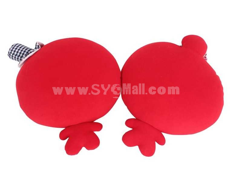 Lovely Old Couple PP Cotton Stuffed Toys 2PCs