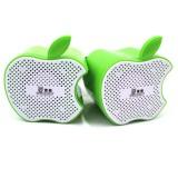 Wholesale - Snowwolf Bitten Apple Style Mini Notebook Speaker (E9125)