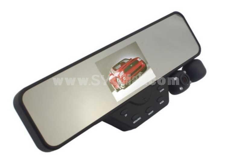 90 Degree Rotate 3.5 Inch Car Digital Video Recorder