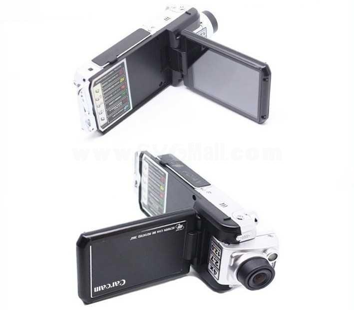 120 Degree Rotate 2.5 Inch 1080P Car Digital Video Recorder