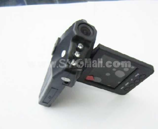 270 Degree Rotate 2.5 Inch Car Digital Video Recorder