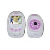 Wholesale - 2.5 Inch Pink Digital Wireless Babymonitor
