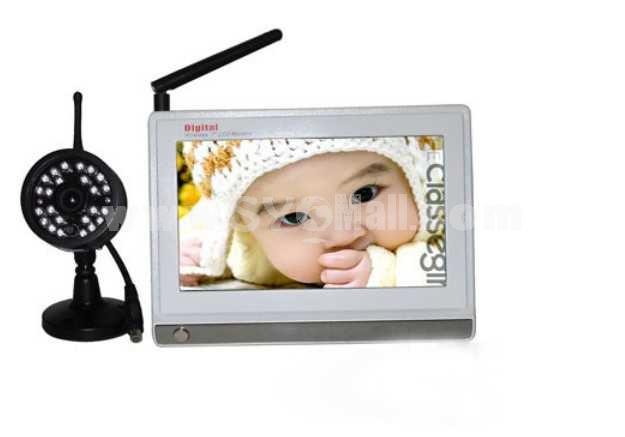 7 Inch 2.4GHz Digital Wireless Babymonitor