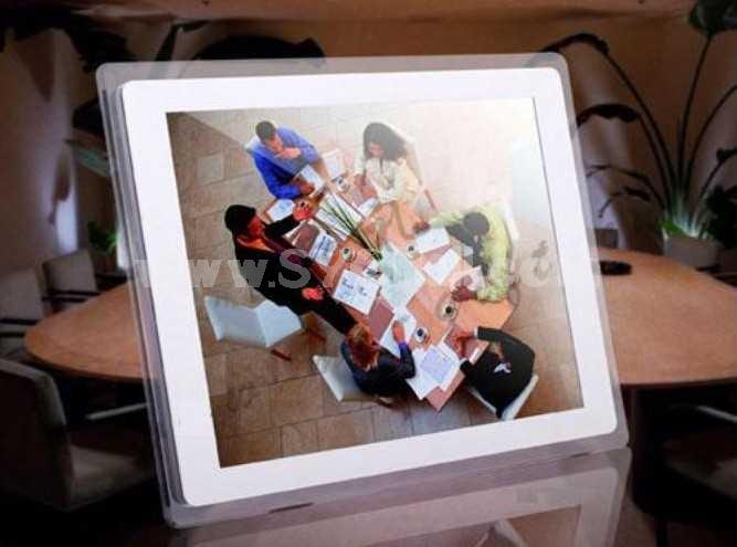 JIADEMEI 13.3 Inchi Wall-Mounted HD Digital Photo Frame HX-133Y
