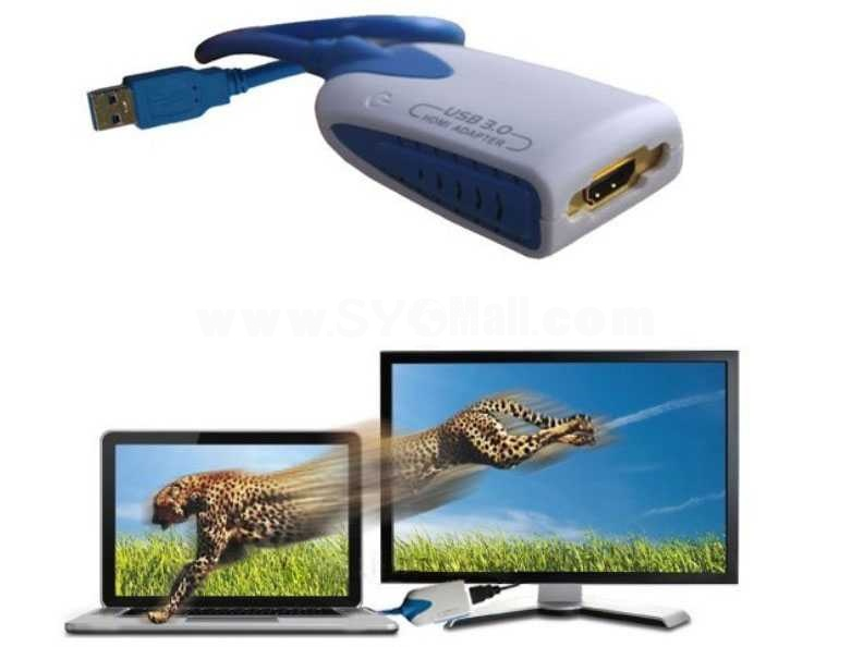 DDR3 USB3.0 to HDMI Adapter (DL300)