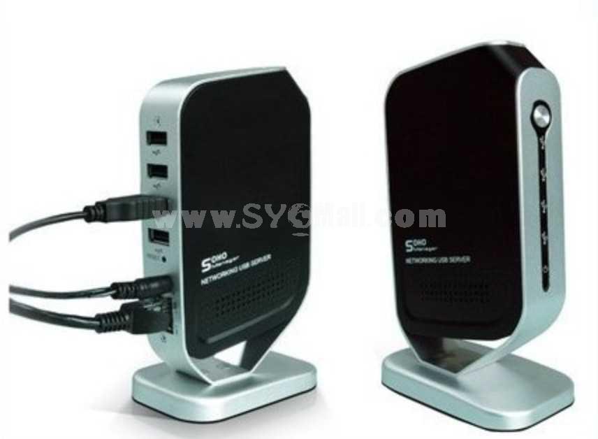 1000M Networking USB2.0 Server (YY-QM4B)