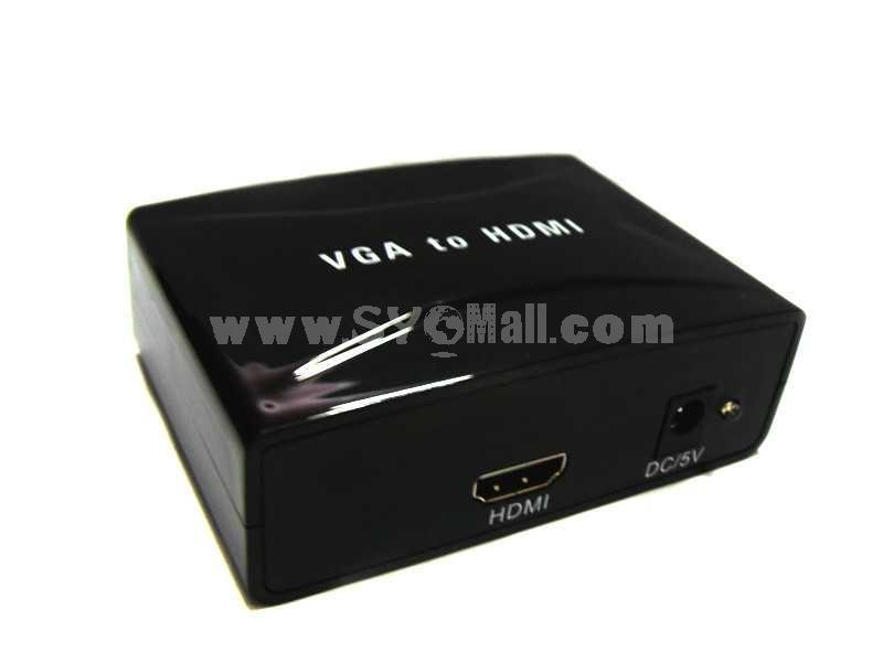 VGA TO HDMI Converter With Audio (YY-V2H1803)