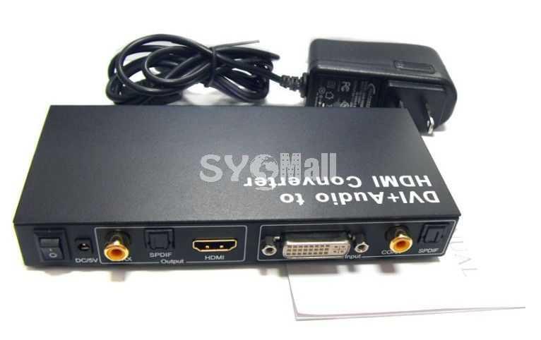 DVI+Audio to HDMI Converter (YY-DA2H)