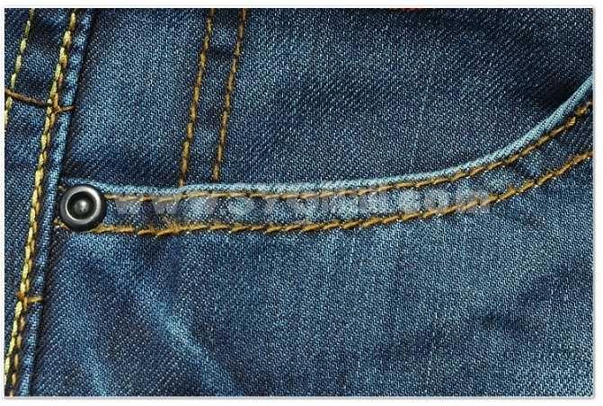 Fashion Dark Blue Winter Straight Mens Jeans 6396