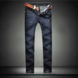 Wholesale - Fashion Dark Blue Winter Straight Mens Jeans 6662