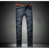 Wholesale - Fashion Dark Blue Winter Straight Mens Jeans 6680
