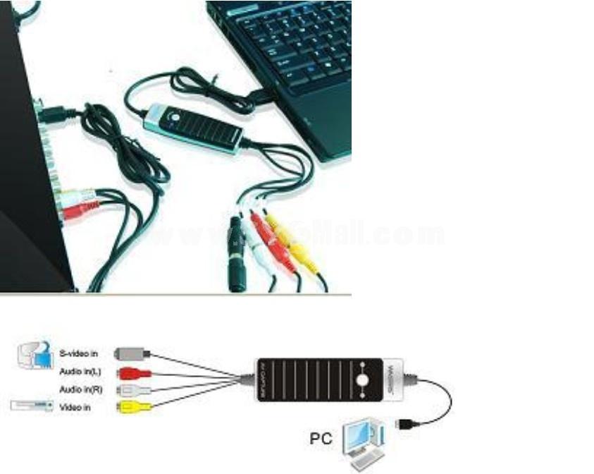 USB Video&Audio Grabber (YY-VC116)
