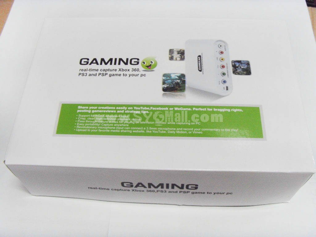 GameCap USB 2.0 Game Video Capture (YY-GC727)