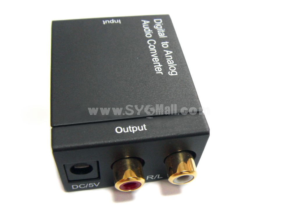 Digital to Analog Audio Converter (YY-DG02)