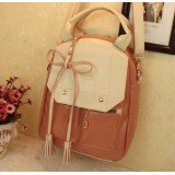 Wholesale - Fashion Preppy Style Leather Backpack