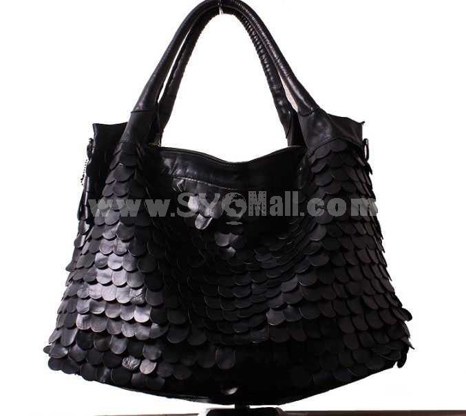 Fashion Oily Soft Leather Hand Bag