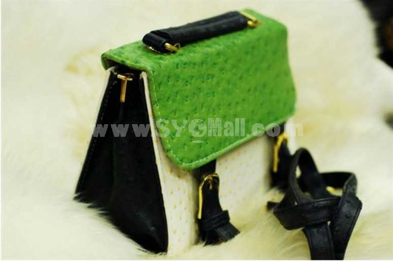 Fresh Vintage Style Single-Shoulder Bag