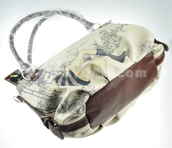 Cartoon Pattern Leisure Single-Shoulder Bag