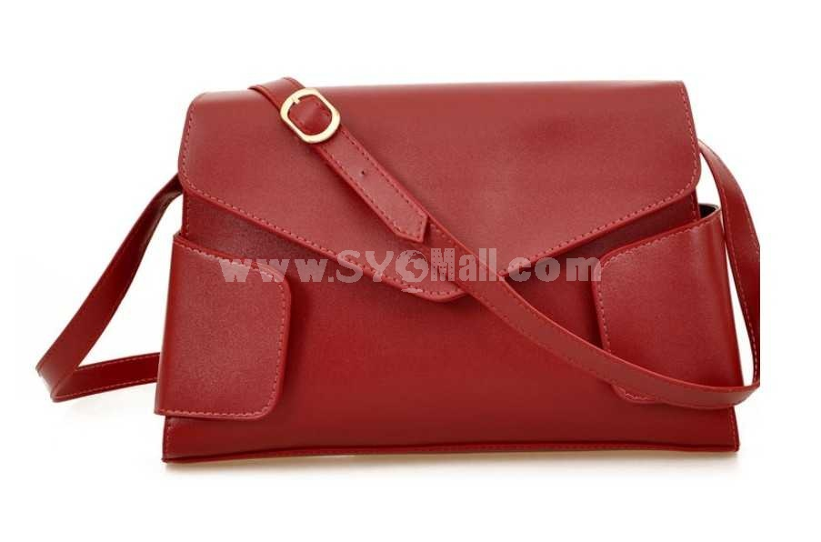 European Style Polygon Design Single-Shoulder Bag