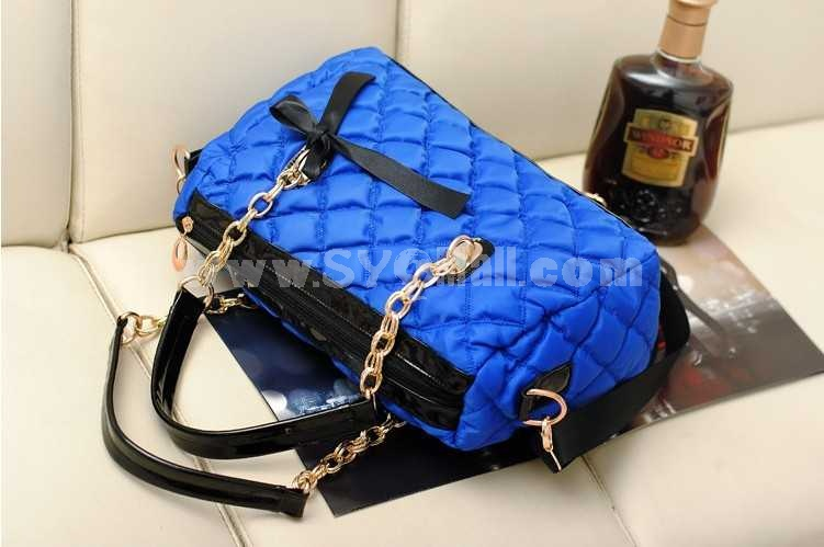 Korean Simple Style Bowknot Single-Shoulder Bag