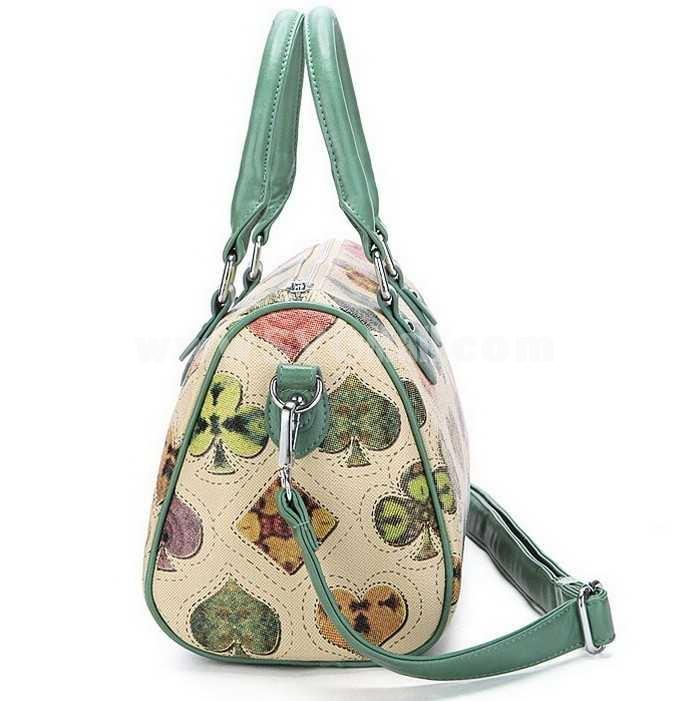 Made dish Design Contrast Color Hand Bag