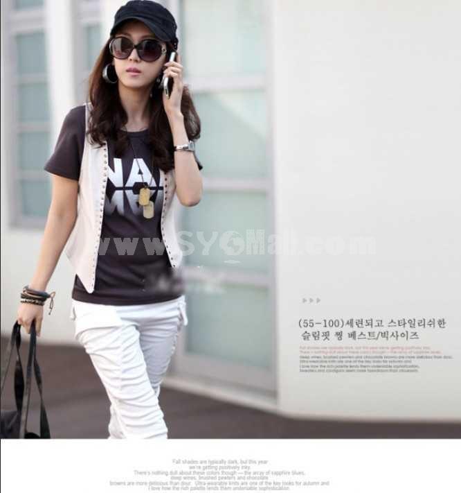 Fashionable Sleeveless Shawl/Vest/Coat (M104)