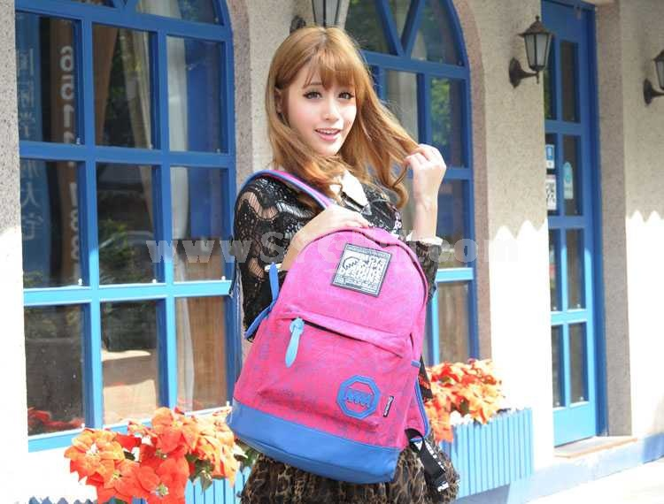 MCYS&JPN Durable Korera Style Multifunction Zipper Laptop Backpack 3102