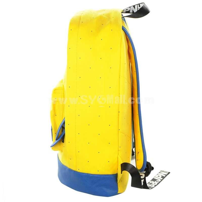MCYS&JPN Durable Canvas Traveling Multifunction Zipper Laptop Backpack 3100