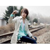 Wholesale - Men's Fashion Extra Thick Cotton Overcoat 10-1616-Y162