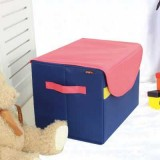 Wholesale - Stylish Nylon Square Contrast Color Storage Box